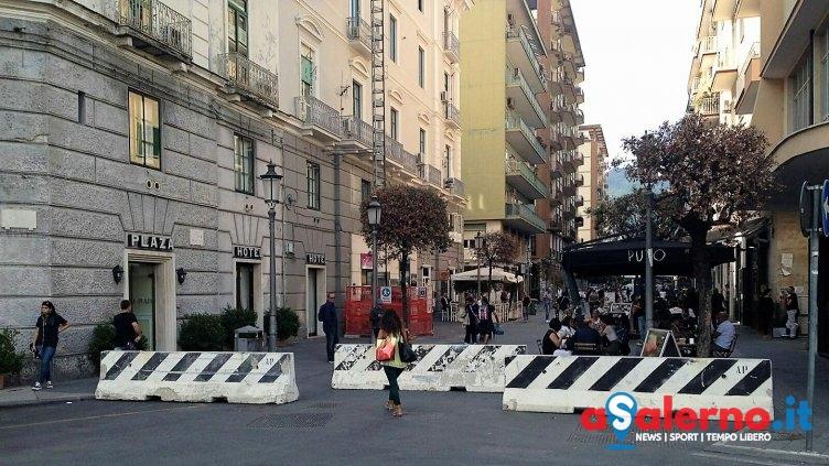 Sicurezza a Salerno: pronta installazione dei new jersey - aSalerno.it