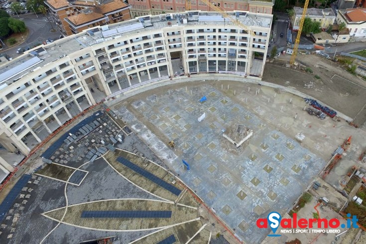 Piazza della Libertà: smaltito il materiale per realizzare il parcheggio interrato - aSalerno.it