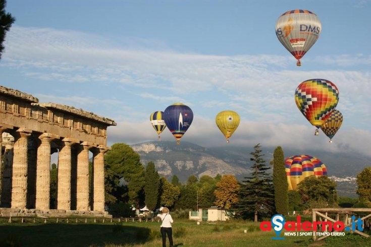 Torna a Paestum il Festival delle Mongolfiere - aSalerno.it