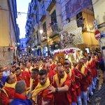 SAL - 21 09 2017 Salerno Duomo. Processione di San Matteo. Foto Tanopress