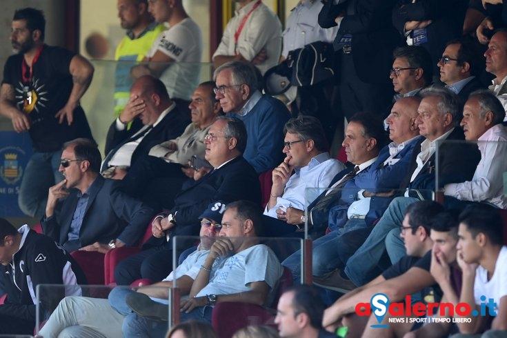 """Lotito in sala stampa: """"Oggi la squadra si è espressa in maniera diversa"""" - aSalerno.it"""