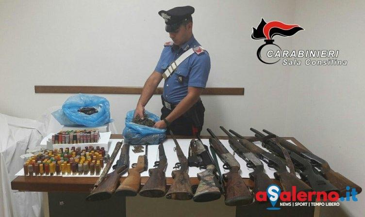 Droga, armi ed esplosivo nascosti in un fondo agricolo a Roscigno - aSalerno.it