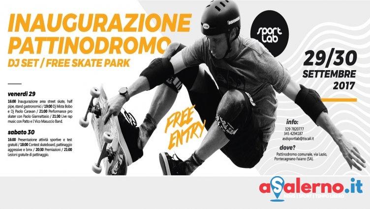 A Pontecagnano apre il free Skate Park della Sport Lab - aSalerno.it