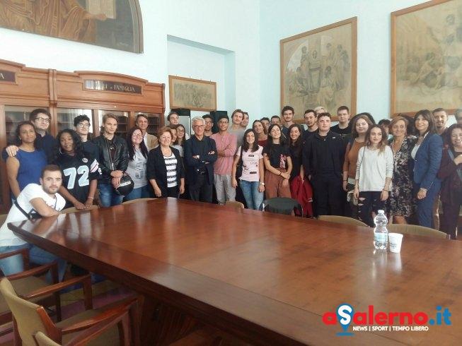 Erasmus a Salerno: oggi a Palazzo di Città accolti 20 ragazzi – FOTO - aSalerno.it