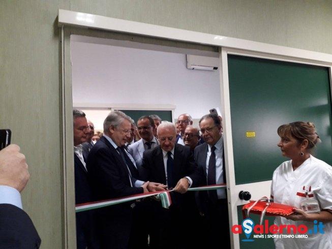 Inaugurata a Polla nuova apparecchiatura per l'oculistica: il laser a eccimeri – FOTO - aSalerno.it