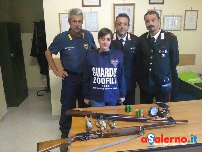 """Lotta al bracconaggio, Enpa Salerno: """"Carabinieri di Borgo Carillia, grande esempio per tutti"""" - aSalerno.it"""