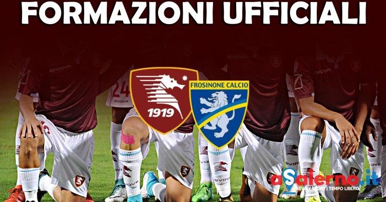Salernitana-Frosinone, le formazioni ufficiali - aSalerno.it