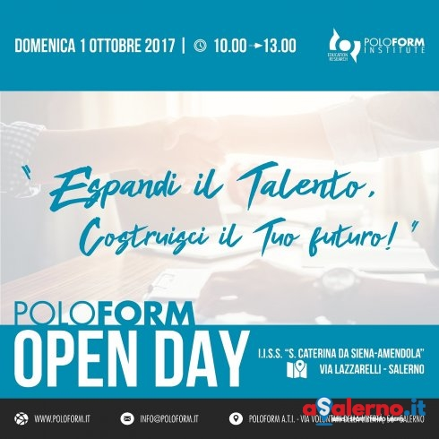 """Espandi il talento. Costruisci il futuro"": l'evento Open Day all'Amendola - aSalerno.it"