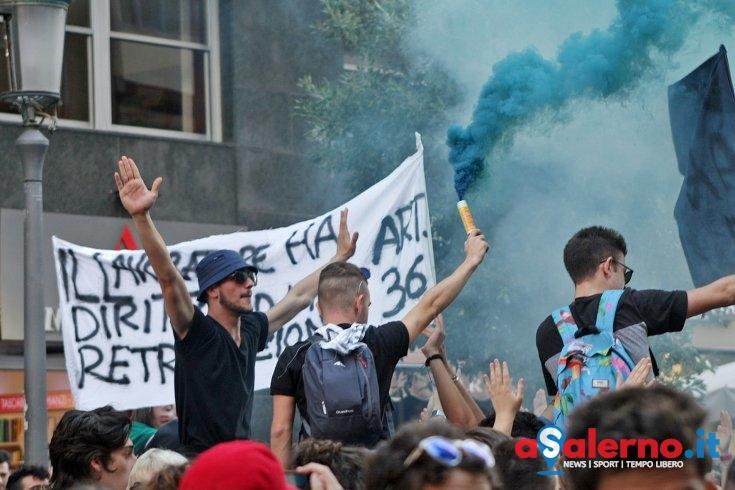 Studenti oggi in corteo a Salerno - aSalerno.it