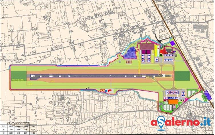 Progettazione Fase 2 all'aeroporto: c'è la commissione, 5 operatori ammessi su 11 - aSalerno.it