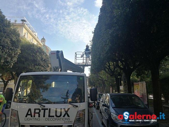 """Luci d'Artista, il sindaco: """"Decisione importante per salvaguardare turismo e commercio"""" - aSalerno.it"""
