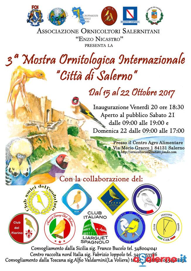 Calendario Mostre Ornitologiche 2019 Sicilia.Torna La Mostra Ornitologica Internazionale Citta Di Salerno