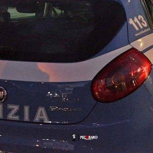 polizia Salerno Spiazzale Brico Center. Sparatoria ad un parcheggiatore abusivo