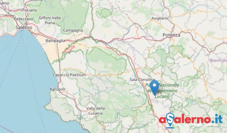 Scossa di terremoto a Padula: magnitudo 3.8 avvertito dopo la mezzanotte - aSalerno.it