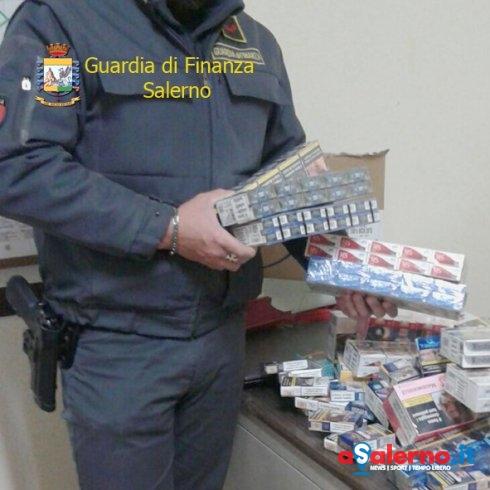 Sequestrati 326 pacchetti di sigarette a un rappresentante di una multinazionale – LE FOTO - aSalerno.it