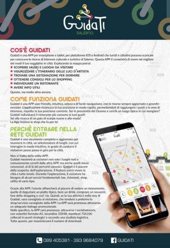 """Itinerari, shop e ristoranti: ecco """"Guidati"""" l'app tutta salernitana - aSalerno.it"""