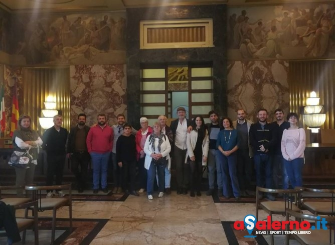 A Palazzo di Città delegazioni da tutta Europa per la European Community of Inclusive Culture - aSalerno.it