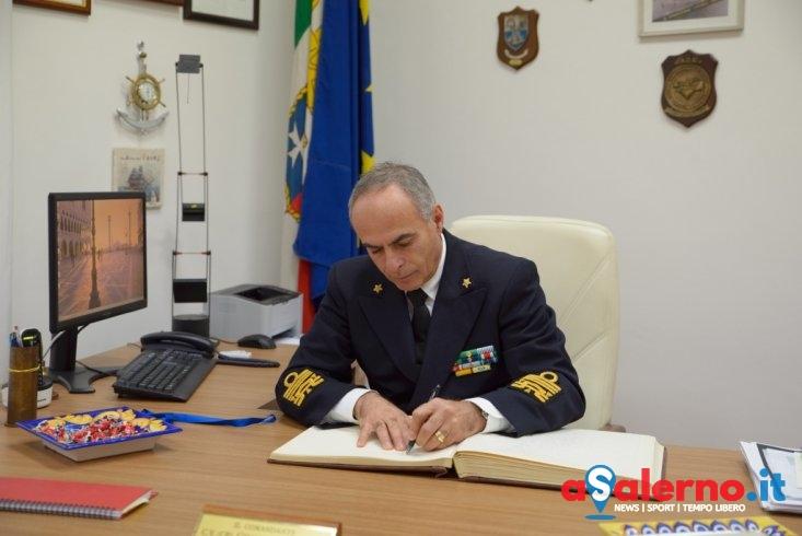 Visita del comandante generale alla capitaneria di Porto di Salerno – FOTO - aSalerno.it