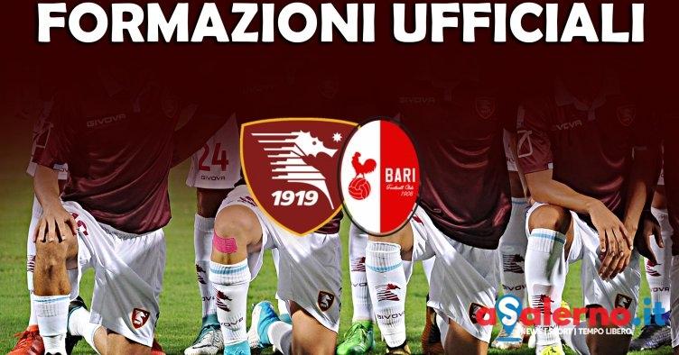 Salernitana-Bari, formazioni ufficiali - aSalerno.it