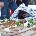SAL - 17 11 2017 Salerno Cimitero. Funerali delle 26 migranti. Foto Tanopress