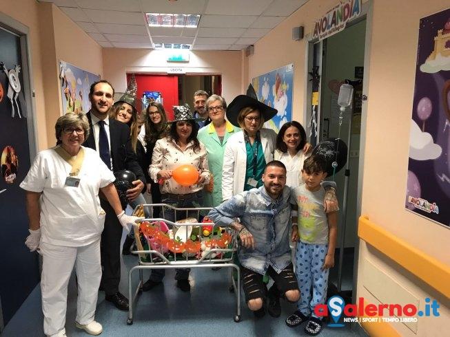 Ruggi, una festa di Halloween per i bambini del reparto di pediatria - aSalerno.it