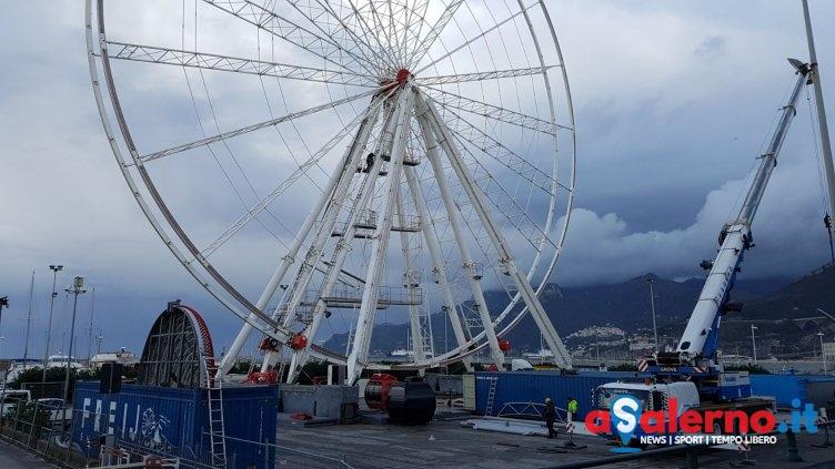 Prezzi e dettagli: domenica il primo giro della Giant Wheel con le sue 42 gondole - aSalerno.it