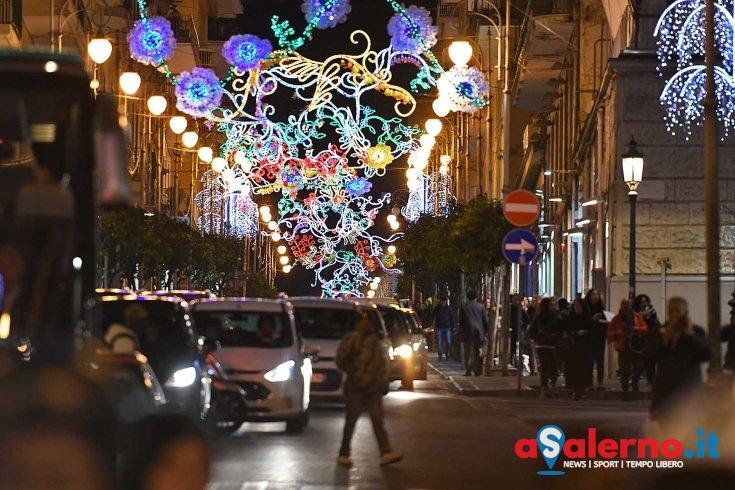 Luci d'Artista, ordine pubblico e traffico: buona la prima - aSalerno.it