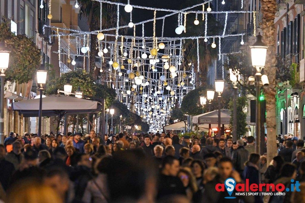 SAL - 11 11 2017 Salerno Accensione Luci d'Artista. Foto Tanopress