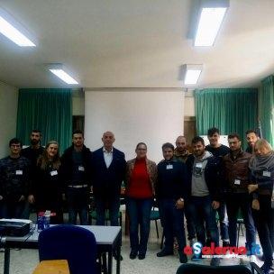 Presentazione giovani volontari ONMIC.Comune di Salerno