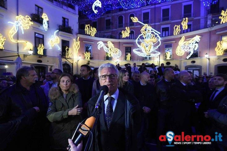 """Luci d'Artista, il sindaco: """"Lavoriamo per inaugurare il 9 novembre"""" - aSalerno.it"""