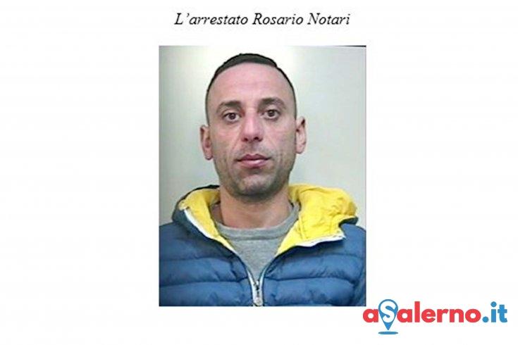 Con la cocaina in casa, arrestato Rosario Notari - aSalerno.it