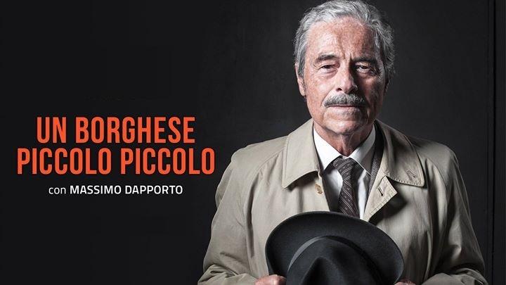 """Massimo Dapporto al Teatro delle Arti con """"Un borghese piccolo piccolo"""" - aSalerno.it"""
