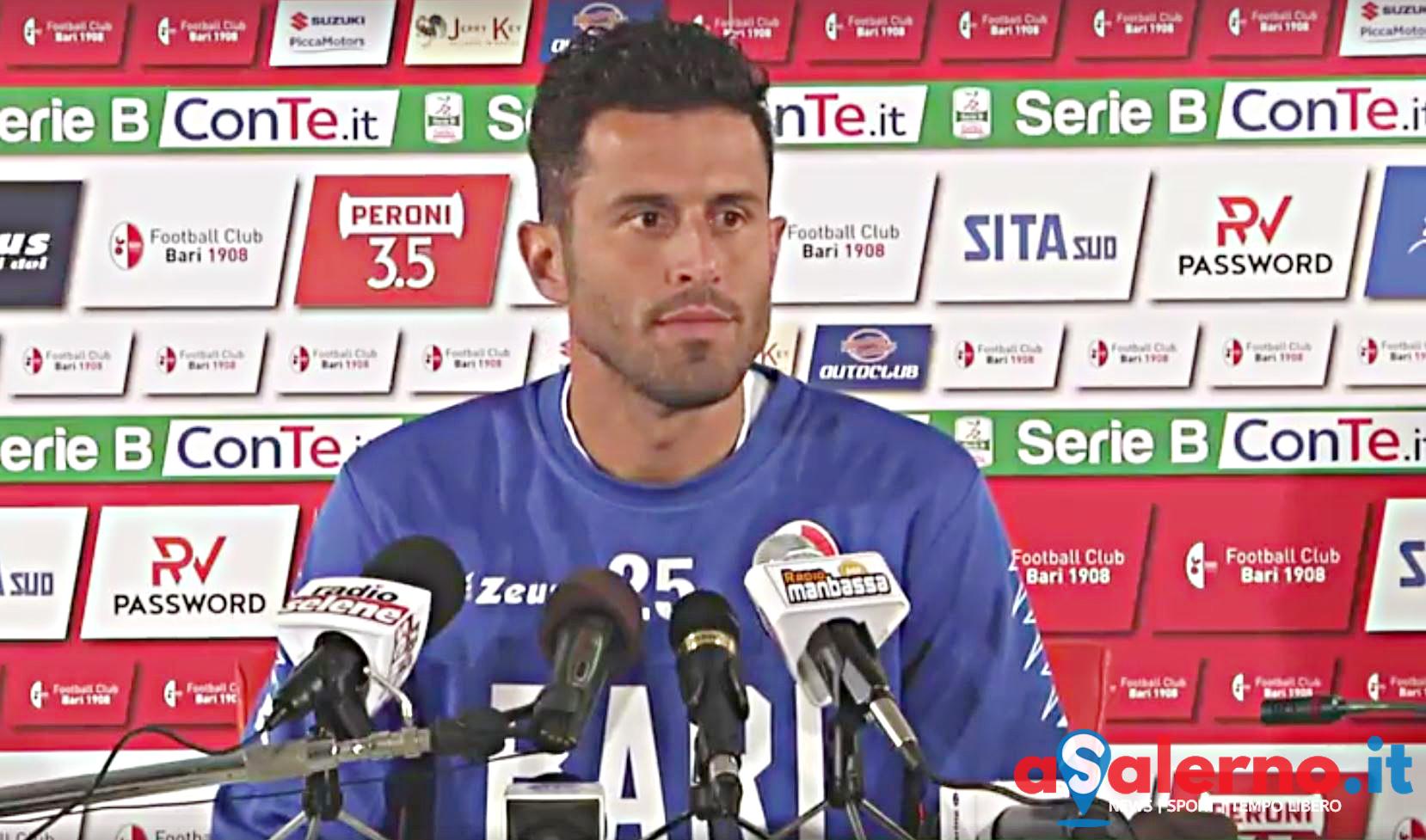 Non basta un grande Rossi, Salernitana-Bari 2-2