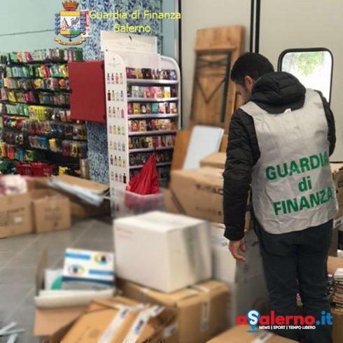 Prodotti non sicuri: maxi sequestro della Finanza – FOTO - aSalerno.it