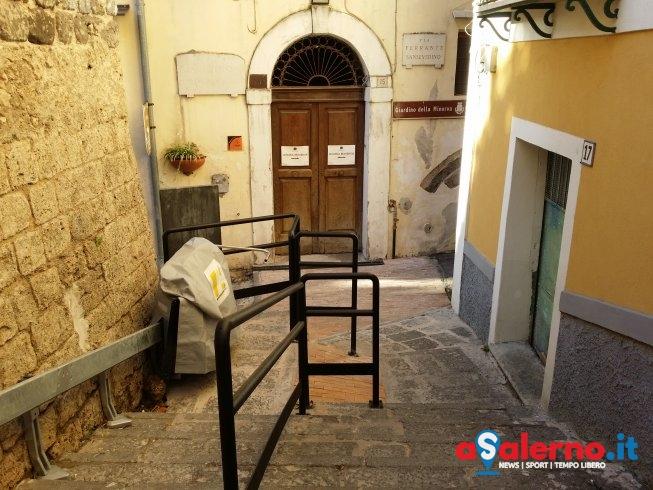 """Giardino della Minerva, barriere """"quasi"""" eliminate: manca solo il collaudo alle pedane - aSalerno.it"""