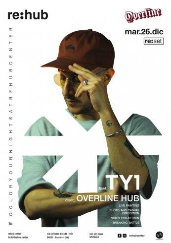 Overline, un anno a colori: il 26 dicembre chiusura con dj Ty1 - aSalerno.it