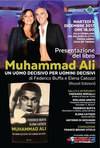 """Federico Buffa a Cava per la presentazione del libro """"Muhammad Ali'"""" - aSalerno.it"""