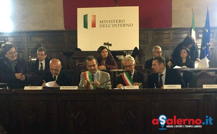 Firmato a Napoli il protocollo per migliorare il sistema di accoglienza dei richiedenti asilo - aSalerno.it
