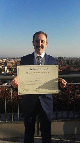 Il premio nazionale di Assolavoro vinto da un salernitano - aSalerno.it