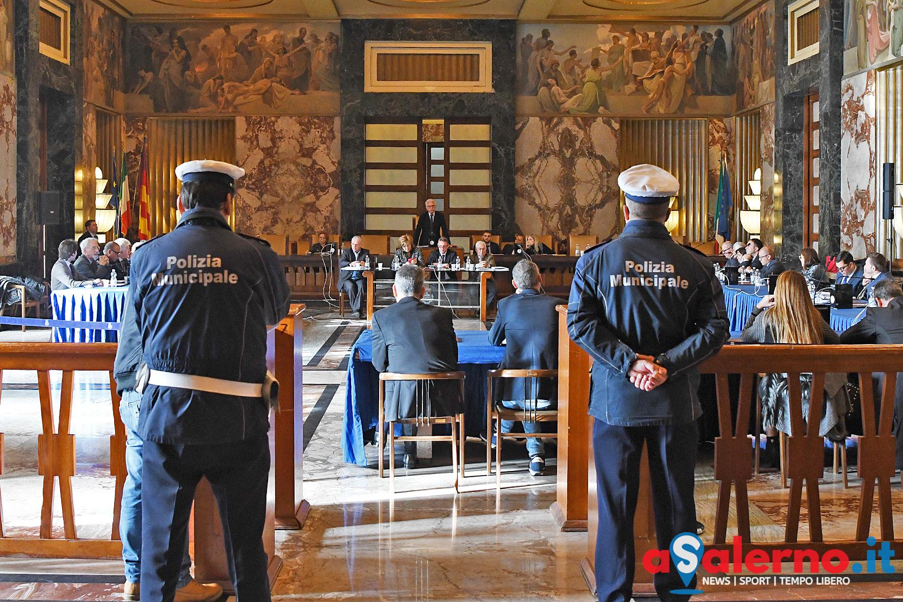 SAL - 28 12 2017 Salerno Comune. Consiglio Comunale. Foto Tanopress