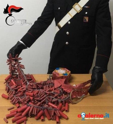 "In casa con 300 petardi cinesi ""Horse Brand Firecrackers"": denunciato 28enne – FOTO - aSalerno.it"