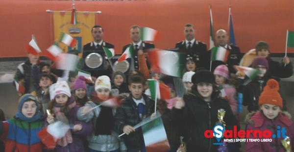 Altruismo e senso del dovere: i bambini premiano i carabinieri - aSalerno.it