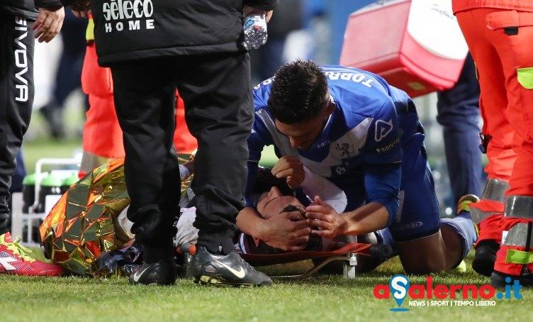Trauma contusivo-distorsivo alla caviglia per Pucino - aSalerno.it
