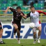 Salernitana - Foggia campionato serie C nella foto ferrro e shala (Foto Tanopress)