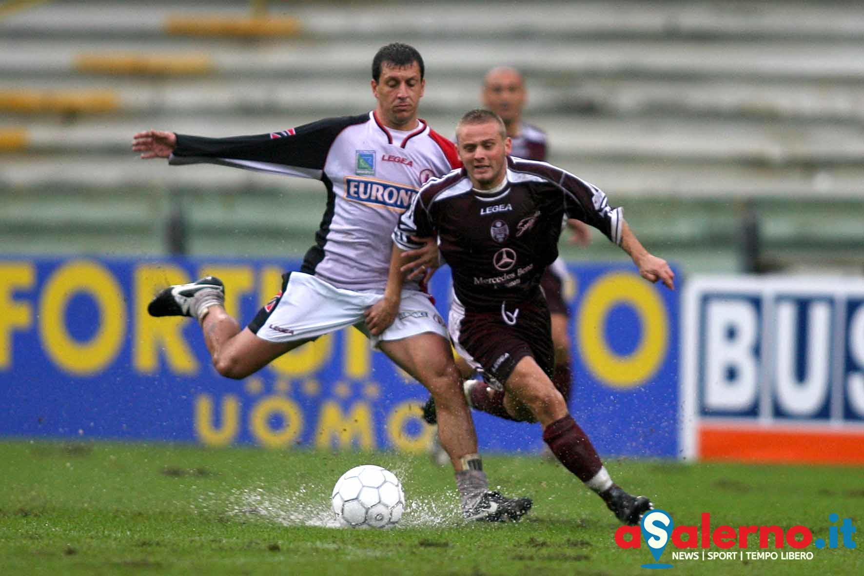Salernitana - Foggia campionato serie C nella foto mattioli e cardinale (Foto Tanopress)