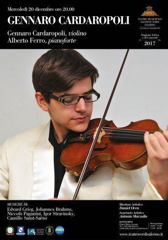 Domani al Teatro Verdi il concerto Cardaropoli e Ferro - aSalerno.it