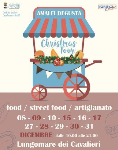 """Amalfi, inaugurato ieri il """"Degusta Food e Street Food Christmas Tour"""" - aSalerno.it"""