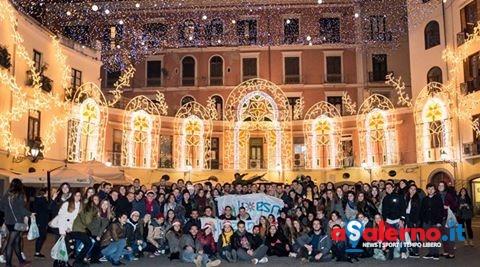 Erasmus a Salerno: oltre 500 studenti da tutto il mondo alla scoperta delle Luci d'Artista - aSalerno.it