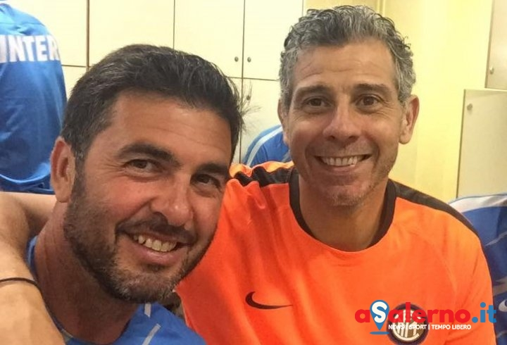 Salvatore Fresi e Francesco Toldo presentano a Salerno l'Inter Grassroots Program - aSalerno.it