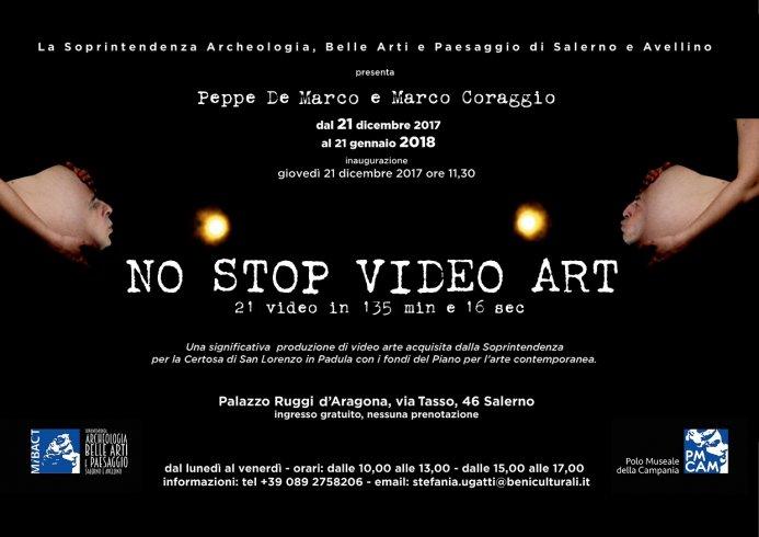 No Stop Video Art a Palazzo Ruggi d'Aragona per tutto il periodo di Luci d'Artista - aSalerno.it